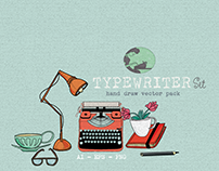 TYPEWRITER SET