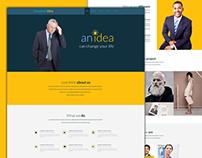 Creative Idea - A Creative Multipurpose PSD Template