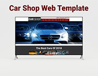 Car Shop Web Template