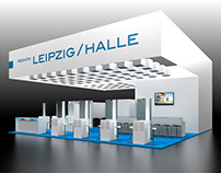 IHK Leipzig Booth Visualization