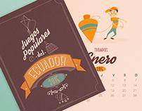 Calendario 2015 - G.A. Juegos Populares Del Ecuador