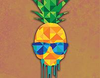 Pineapple/Skull