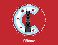 Chicago Badge Design