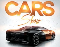 Cars Show | Convention Flyer PSD Template