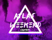 Chatbot development for Atlas Weekend music fest 2017