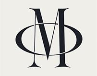 Sinete. Monogram Font