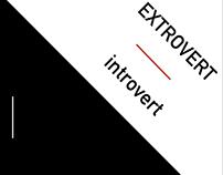 Extrovert+Introvert | Zine Design