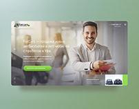 Onepage design - fatcars auto company