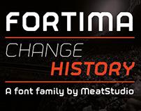 Fortima Font Design