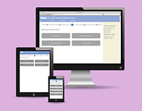 Responsive website prototypes