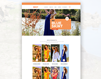 Free Ecommerce PSD Template