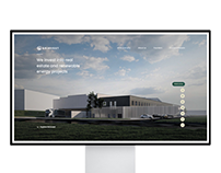 Investment company website «Grinvest»