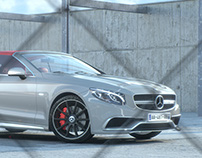 Mercedes   Redshift3D Renders + Animation(full CGI)