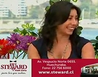 Steward Mención La Mañana de Chilevisión Viña 2015