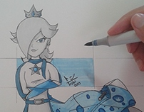 Women in Games: #5 Rosalina (Mario universe)