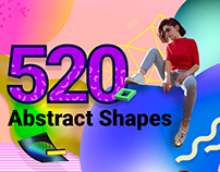 520 Free Abstract Vector Shapes