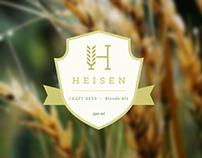 Heisen | Cerveza Artesanal Premium | Branding