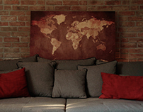 Pinboard Map
