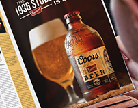 The Stubby Bottle of Coors Banquet