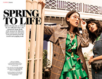 Spring to Life - Fashion Editorial