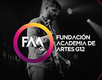 Academia de Artes G12 · Branding