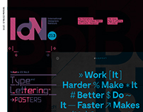 IdN v23n3: Type & Lettering in Posters