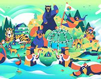 新竹動物園-Reborn主視覺動畫