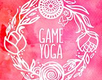 """Логотип для школы йоги для девочек """"Game Yoga"""""""