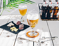 Beer glass styling for GLASMARK