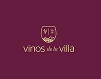 Vinos de la Villa. Branding