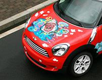 车体彩绘-2011