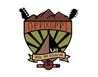 Oppikoppi: Design for a festival.