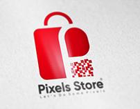 Pixels Store Logo