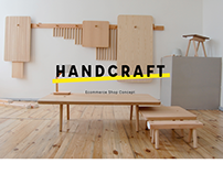HANDCRAFT - ecommerce shop concept