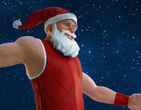 Santa Dunk Intersport