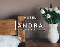 Hotel Andra Branding Design