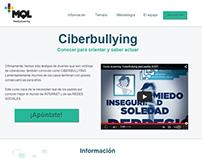 landing page Ciberbullying elearning