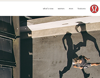 Lululemon Athletica Website + Hangtags