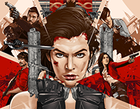 Resident Evil: The Final Chapter Official Promo Art