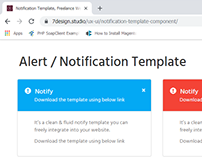 Alert Modal Template | Web Component