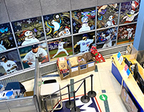 MLB office - Winter Windows