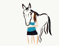 iPad Horse Drawings