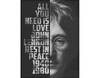 John Lennon — Printable Poster