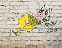 Hutch Rec Salt City Music Showcase   Logo Design