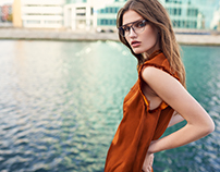 Retouch for ph. Henrik Adamsen for FALVIN Eyewear