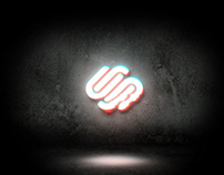 Modern Glitch Logo