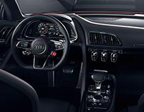 Audi R8 V10 plus interior-CGI