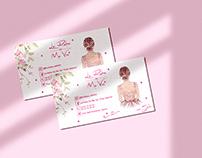 Business card - La robe de ma vie
