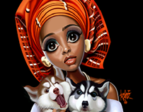 Gele puppies