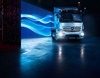 Mercedes Benz eActros Campaign